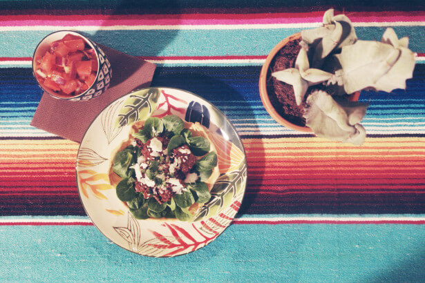 tacos coriandre boeuf mole