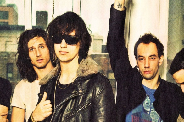 the strokes fessee musicale nouvel EP pop rock