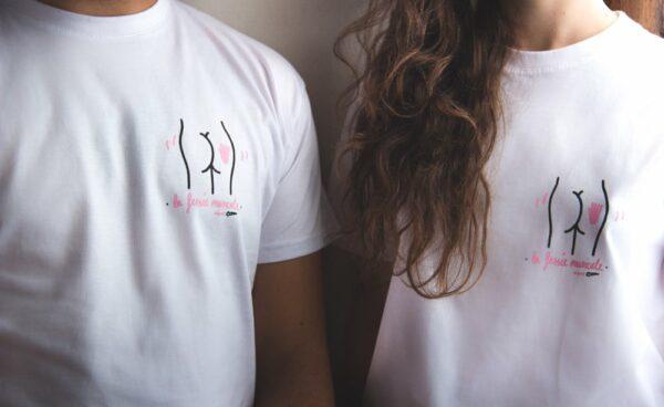 T Shirt la fessée musicale